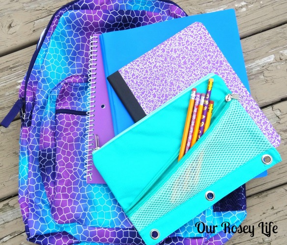 Backpack, Folders, Pencils